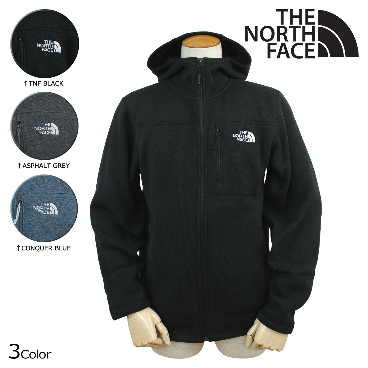 7d31dcae4 «Soon» «10/21 days stock» north face THE NORTH FACE mens jacket fleece  jacket CLD3 3 color MEN's GORDON LYONS HOODIE [10/21 new in stock]