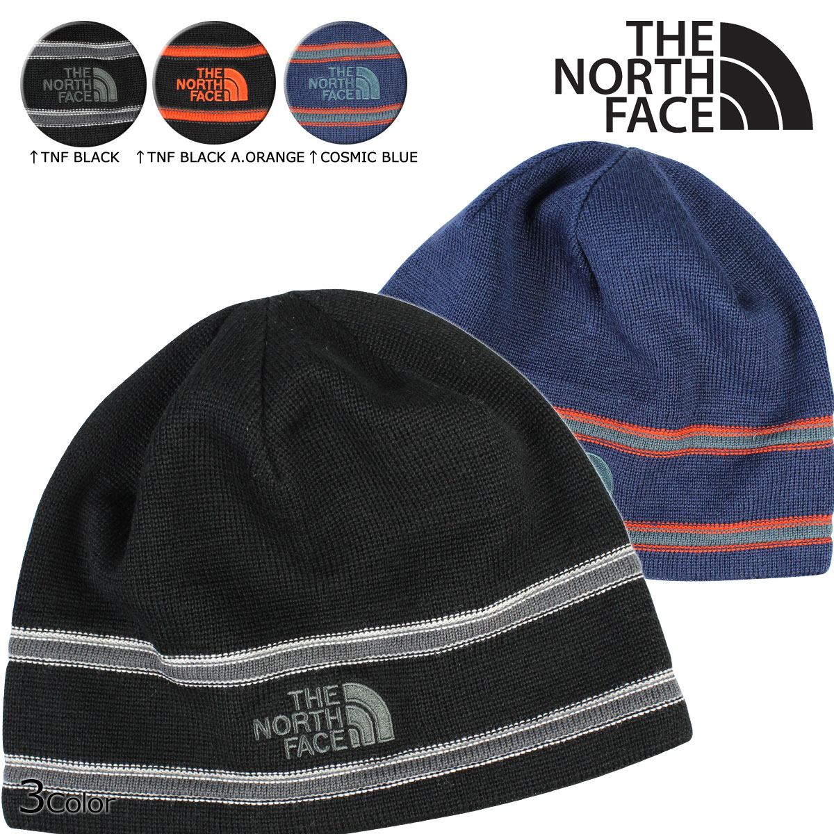 ALLSPORTS   laquo Soon raquo   laquo 10 7 days stock raquo  north face THE NORTH  FACE mens ladies knit hat Beanie knit Cap A6V9 3 color LOGO BEANIE  10 7 ... 51a8f0d390e