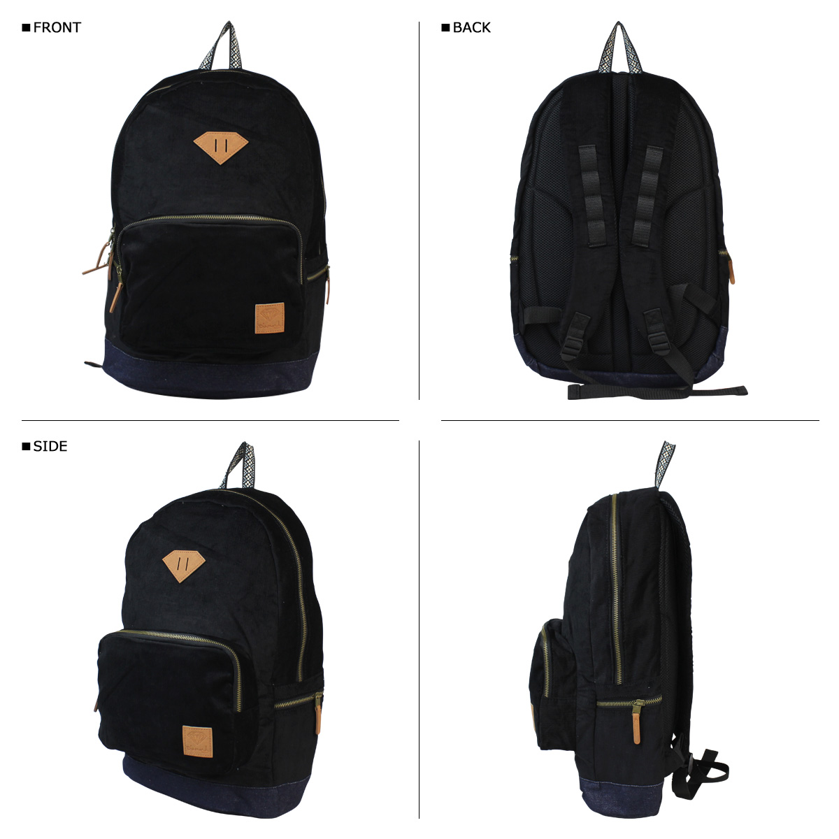 Diamond supply Diamond Supply Co men's backpack rucksack NATIVE BACKPACK [11 / 9 new in stock]
