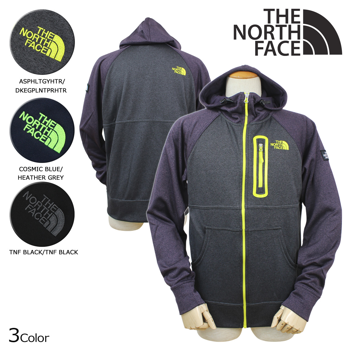 4a373abb1 North face THE NORTH FACE men's Hoodie zip up parka CHZ4 3 color MEN's MACK  MAYS FULL ZIP [11 / 6 new in stock]