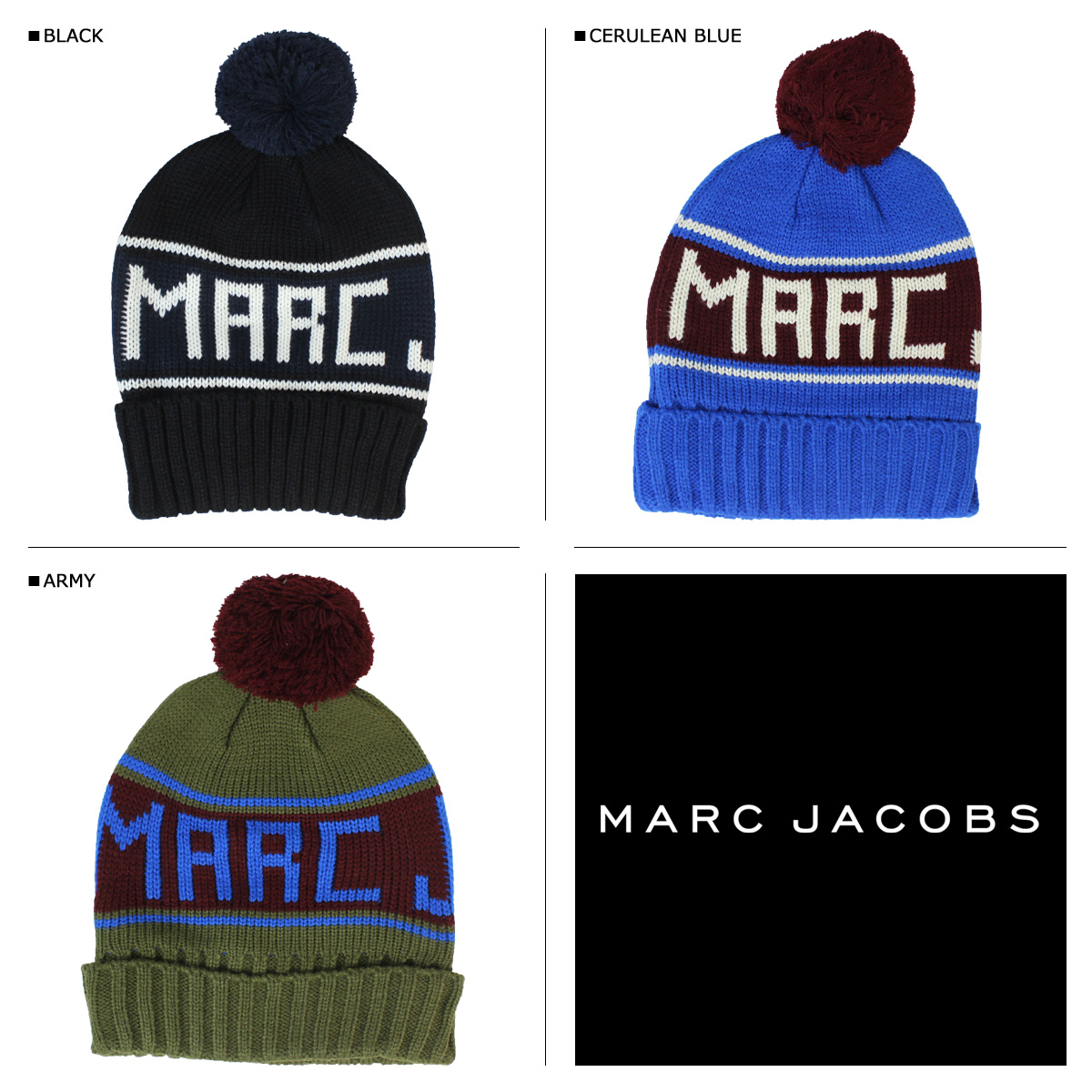 59575d46517  arrival ♪ long-awaited the latest item of mark by mark Jacobs  ・The knit  hat which lets you feel the winter that is the Heide existence like the mark