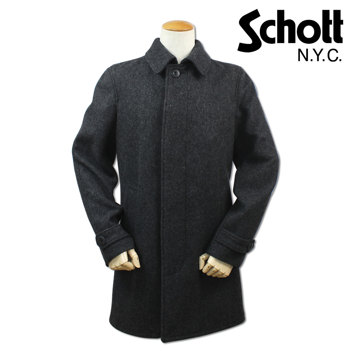 ALLSPORTS | Rakuten Global Market: Shot Schott coat wool coat ...