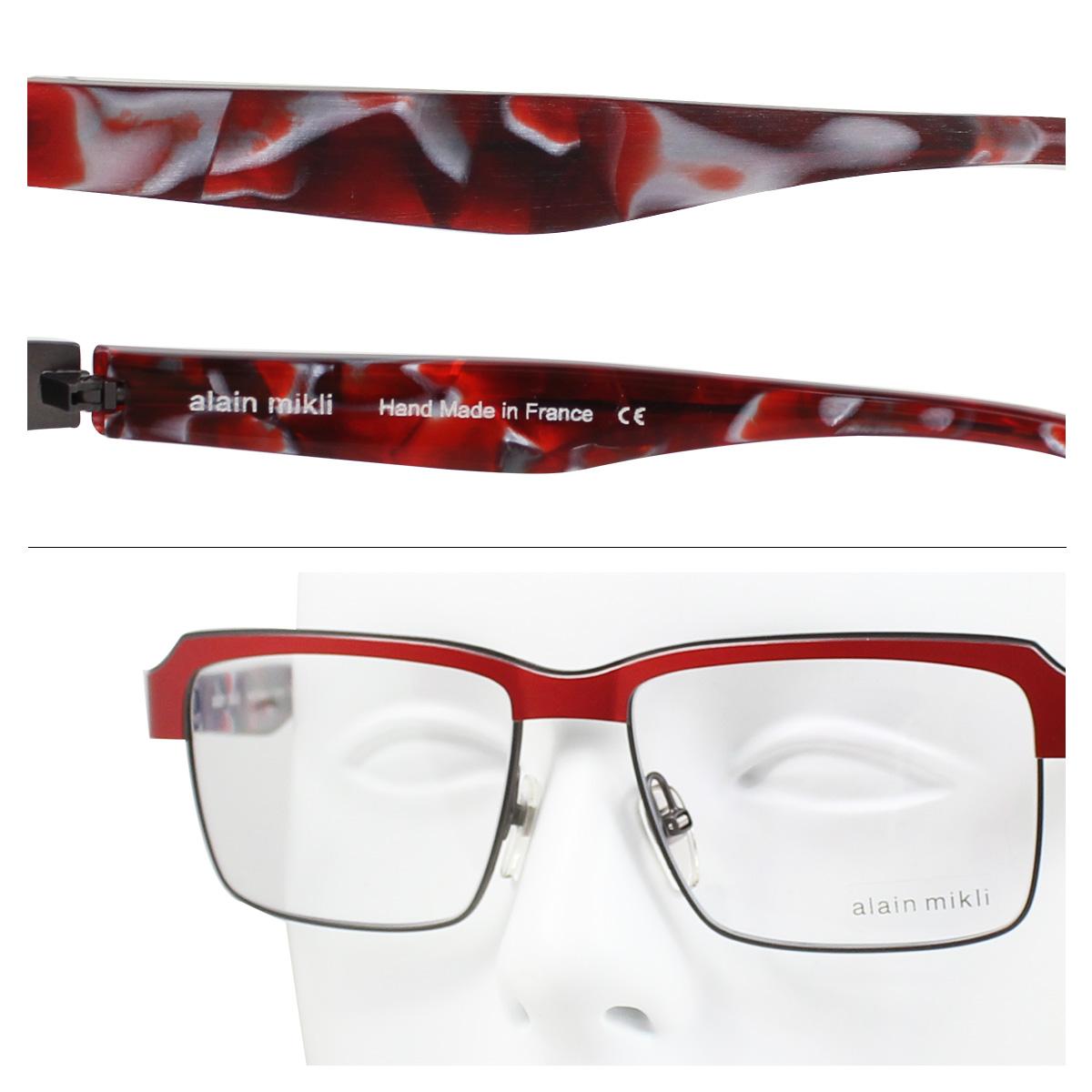 alain mikli arammikurimegane眼鏡法國製造人分歧D