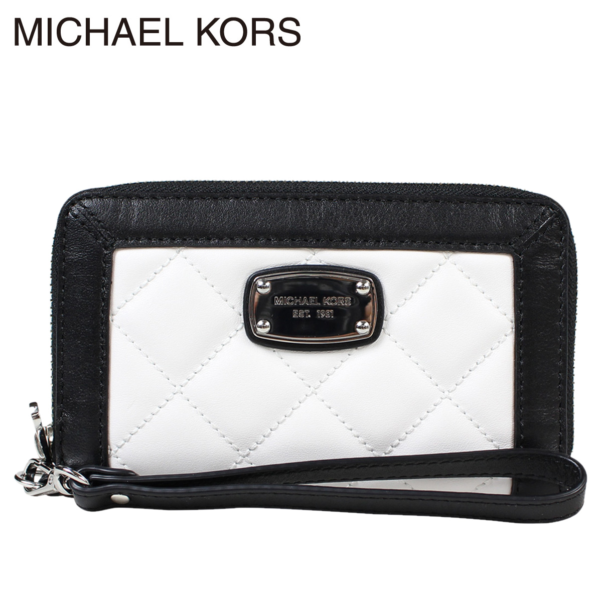 MICHAEL KORS Michael Kors purse wallet 35T6SHQZ7T optic White x black ladies