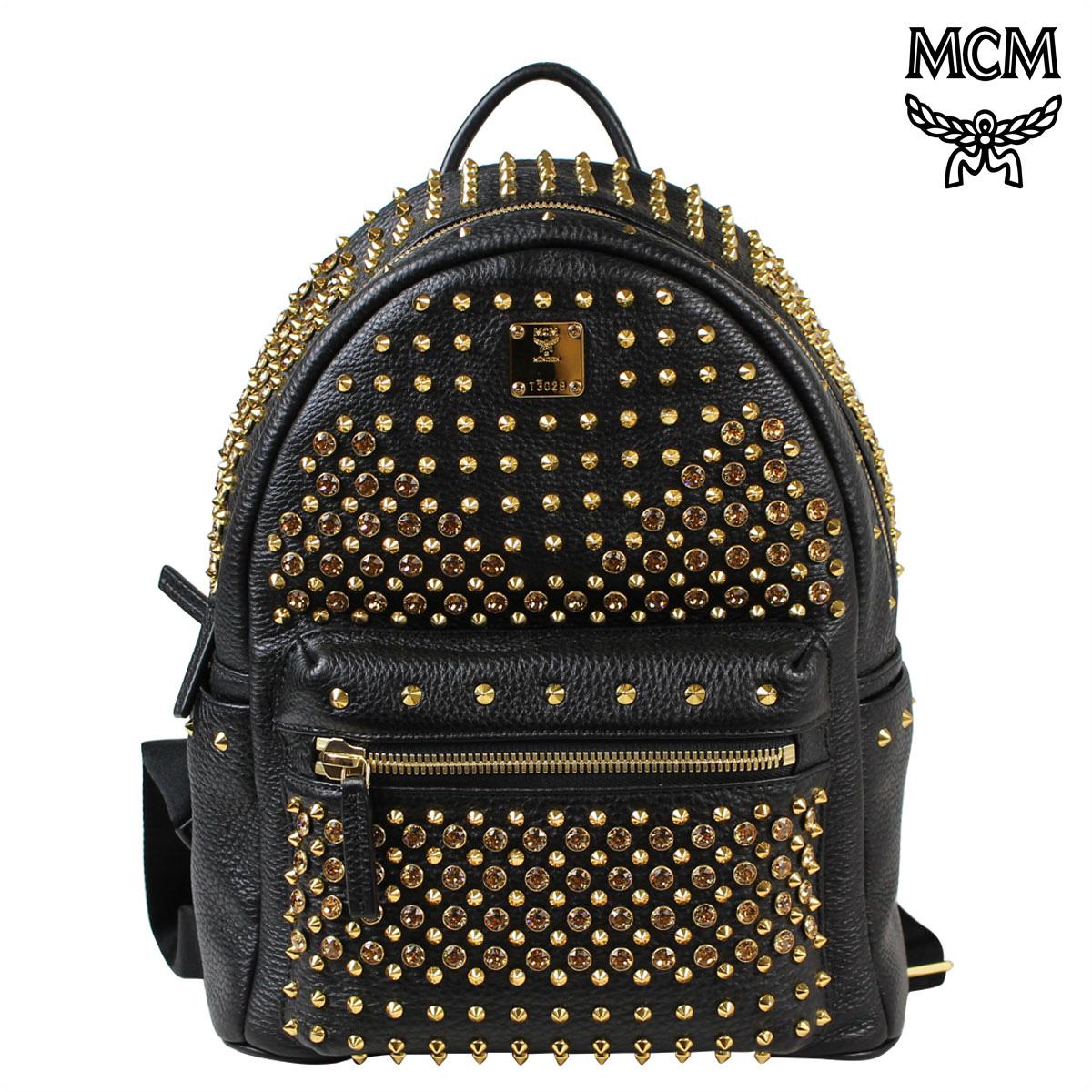 M Cm Mcm Bag Rucksack Backpack Mmk 5sve73 Bk001 Black Lady S