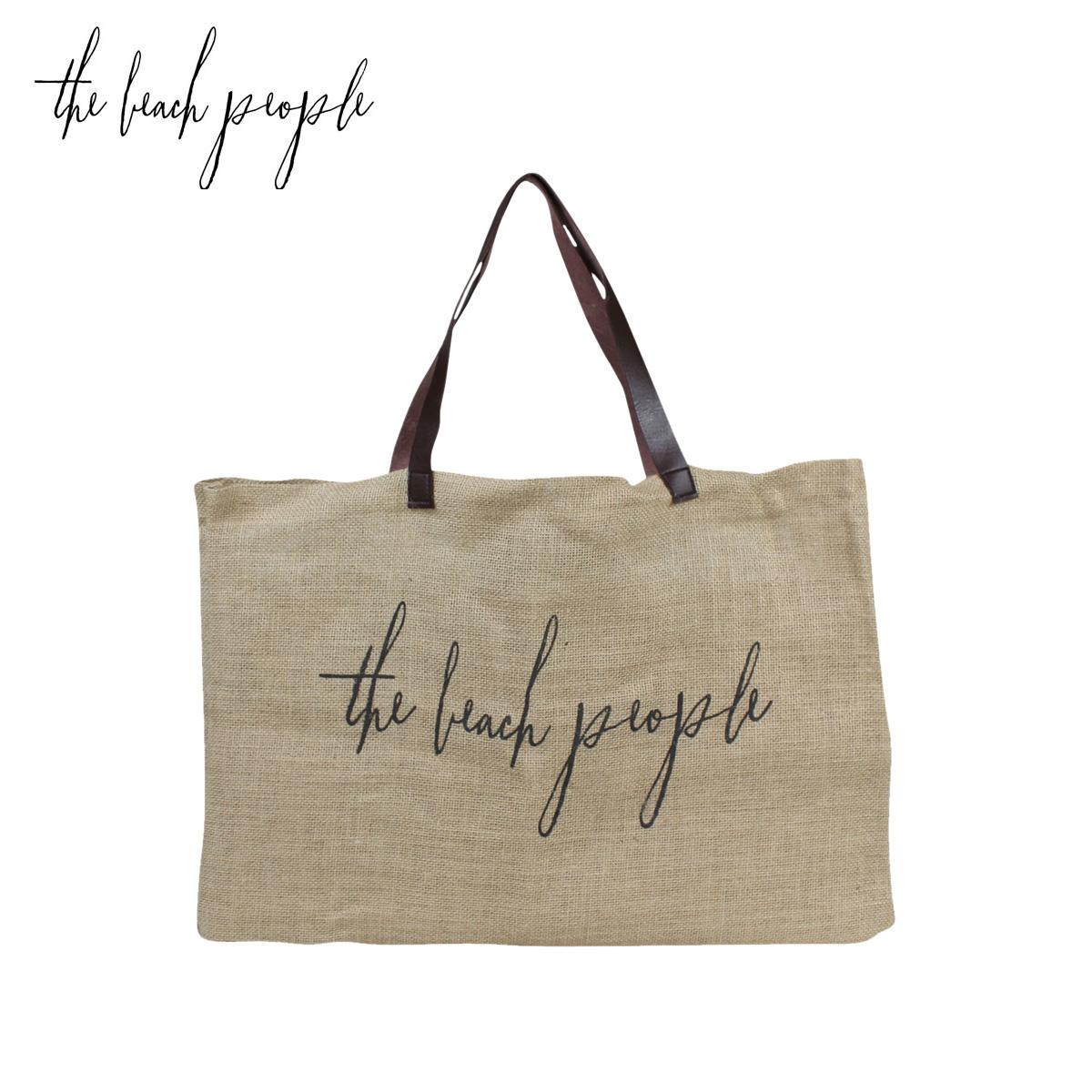 Allsports The Beach People Bag Tote Linen Jute Las 9 5 New In Stock Rakuten Global Market