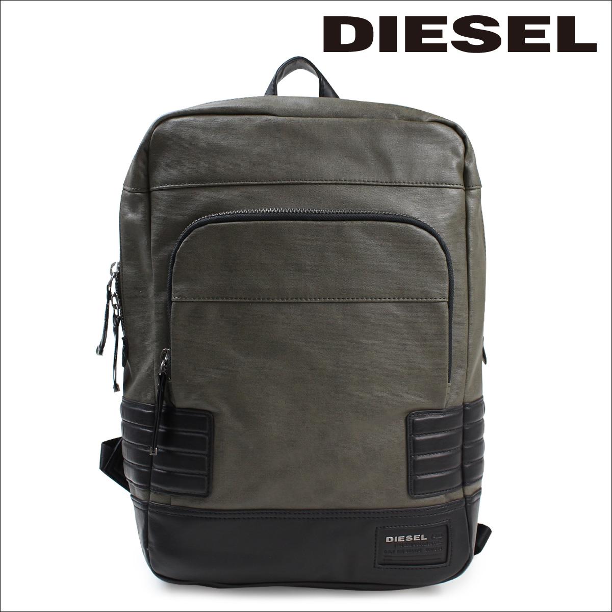 柴油柴油袋背包背包城市核心城市包橄欖 / 綠色男人 [10/13 新股票]