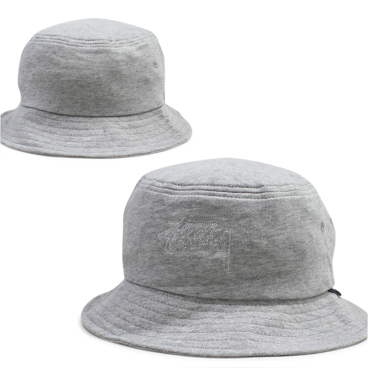 WOMEN STUSSY Stussy women Hat hats bucket Hat OUTLINE BUCKET HAT grey ladies   10 4 new in stock  c73dd5a6ff
