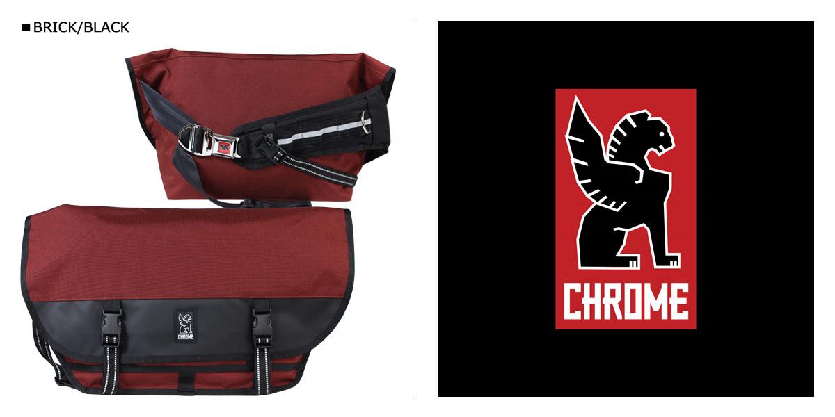 Chrome Messenger bag CHROME shoulder bag BG-002 CITIZEN brick men women [11 / 29 new in stock]