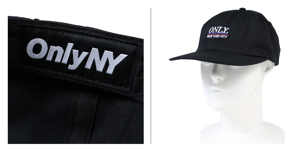 Only New York Cap ONLY NY CAP strap back Cap Hat STADIUM POLO HAT men's ladies [11 / 22 new in stock]