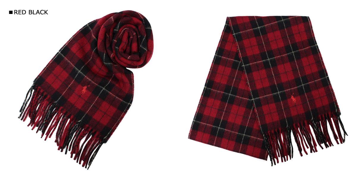 9cbfae742be7f Ralph Lauren scarf mens Womens POLO RALPH LAUREN Polo knit wool TARTAN  PLAID SCARF 606439  11   8 new in stock
