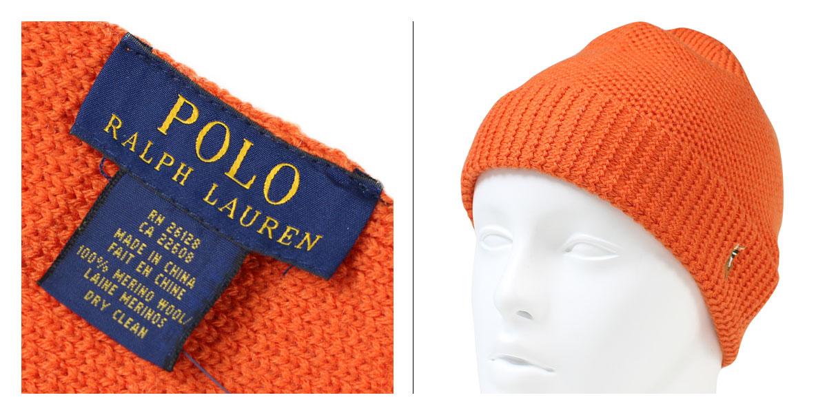 3c13940d8a8 ALLSPORTS  Ralph Lauren knit Cap mens Caps hats POLO RALPH LAUREN ...