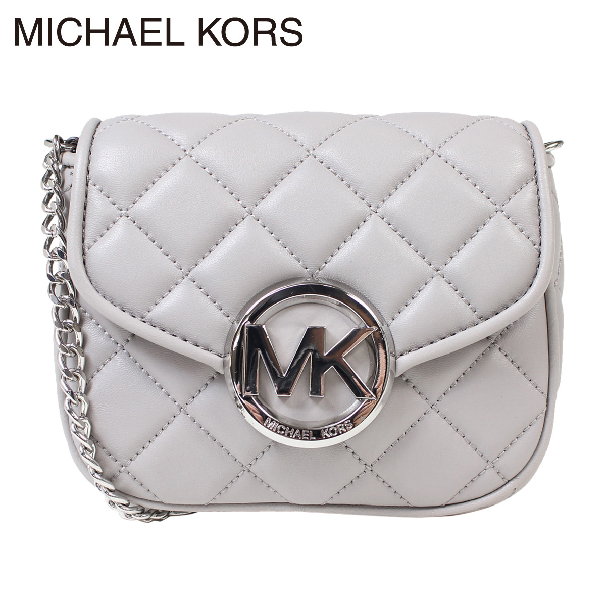 1cbf9111a61860 Michael Kors bag shoulder bag MICHAEL KORS 35S6SFQC1L pearl grey Lady's ...