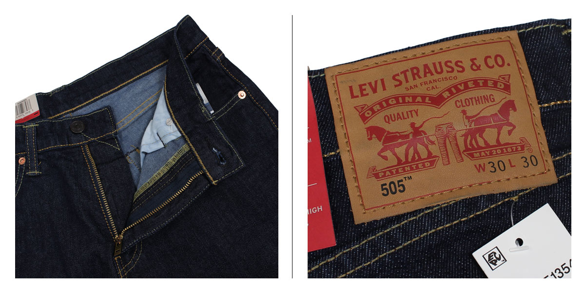Levis 505 LEVIS straight denim REGULAR FIT STRAIGHT men [the 4/19 additional arrival] [174]