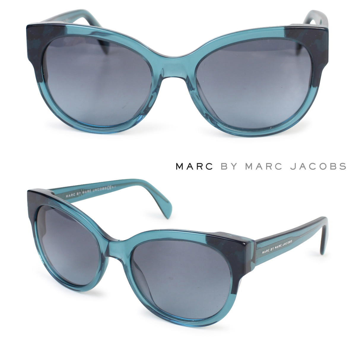 genuine shoes competitive price good out x MARC BY MARC JACOBS mark by mark Jacobs sunglasses Lady's UV cut MMJ486/S  is blue