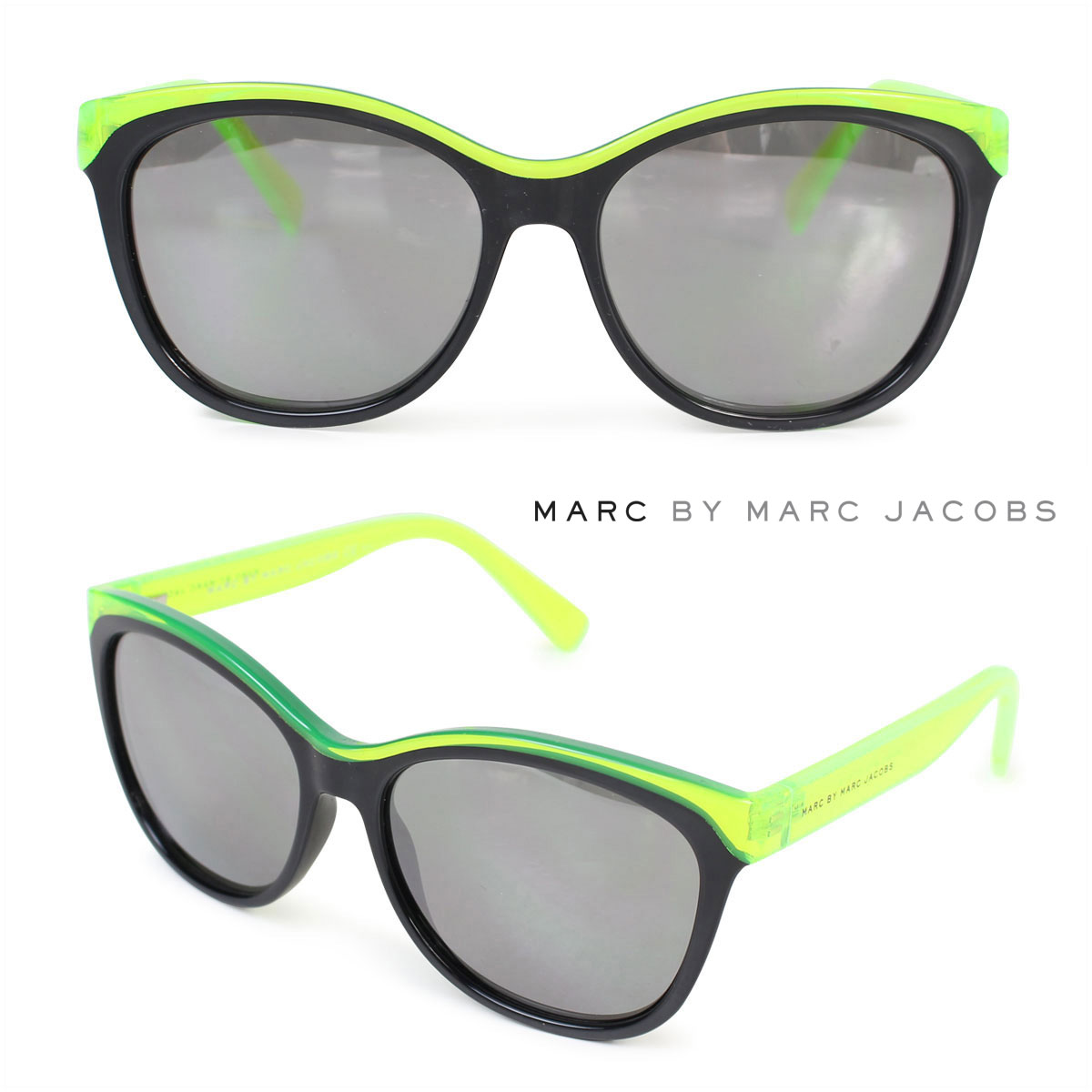 d35a5384dd1f MARC BY MARC JACOBS mark by mark Jacobs sunglasses Lady's MMJ439/S lime  black ...