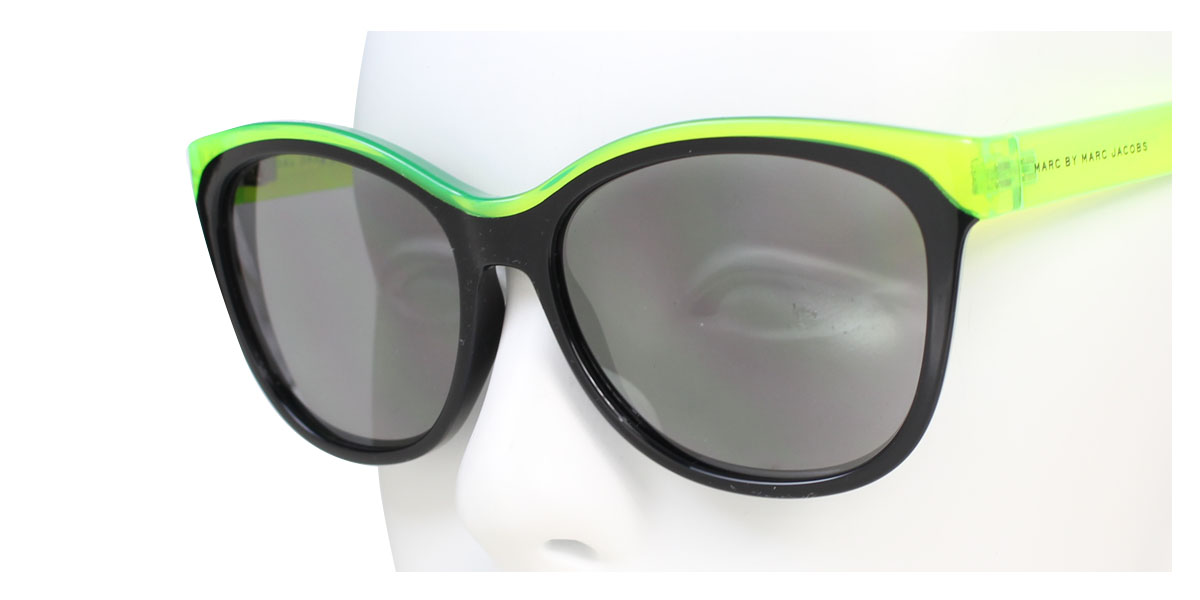 4ed6dcaca34a ... MARC BY MARC JACOBS mark by mark Jacobs sunglasses Lady's MMJ439/S lime  black [