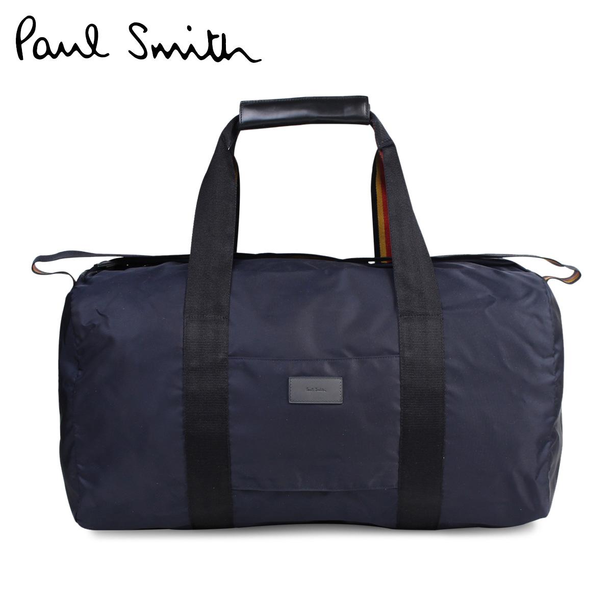 Paul Smith Bag Men Boston Duffel Mens Holdall Nylon Anxa 4686 L719 Navy 176