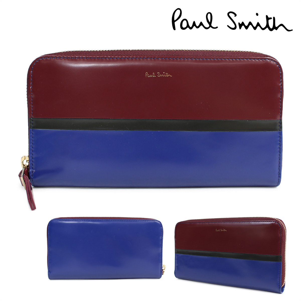 Allsports Paul Smith Wallet Ladys Long Wallet Paul Smith Genuine
