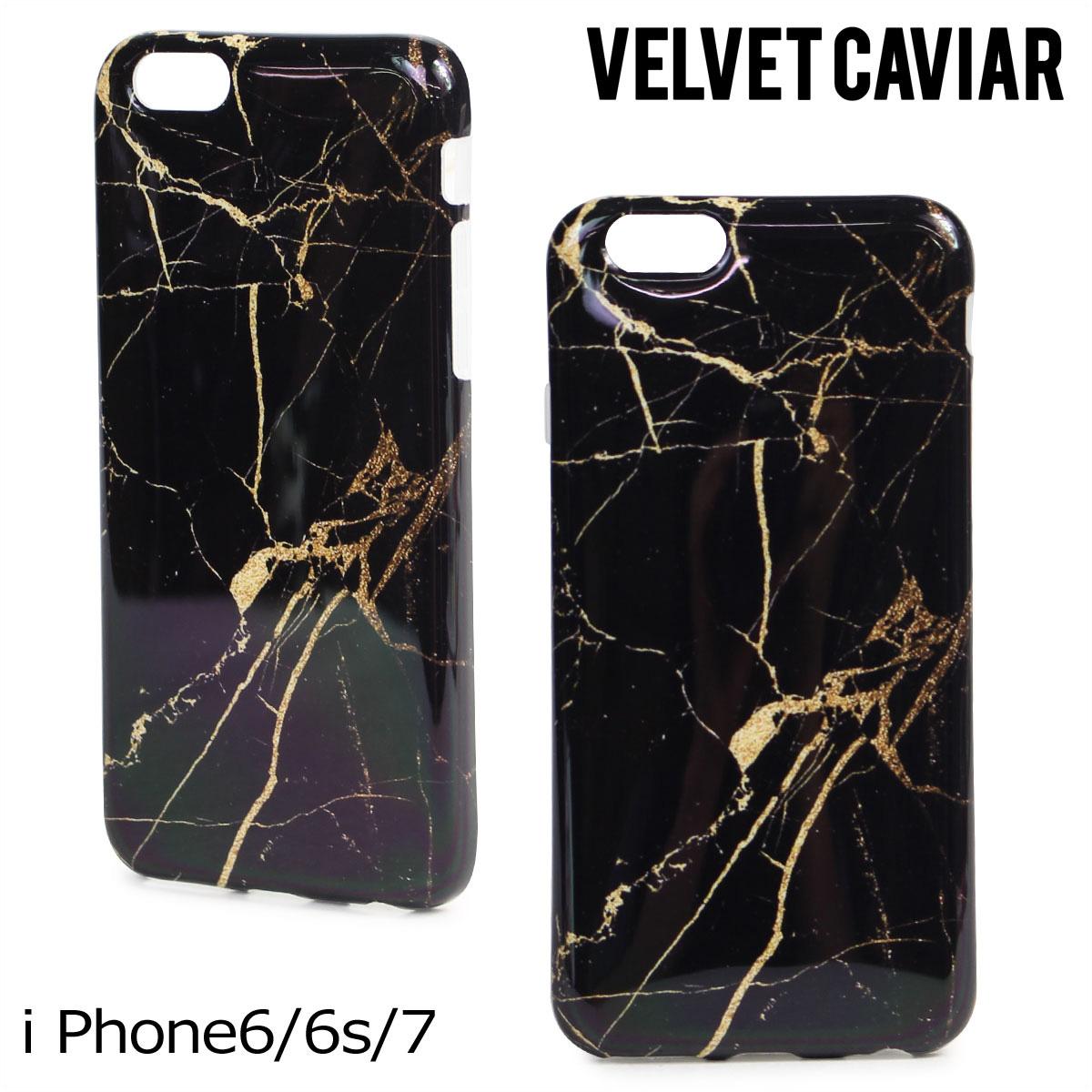 the latest 24f34 eb000 Velvet caviar Velvet Caviar iPhone7 6 6s case smartphone iPhone case  eyephone iPhone velvet BLACK & GOLD MARBLE IPHONE CASE Lady's black gold  [176]