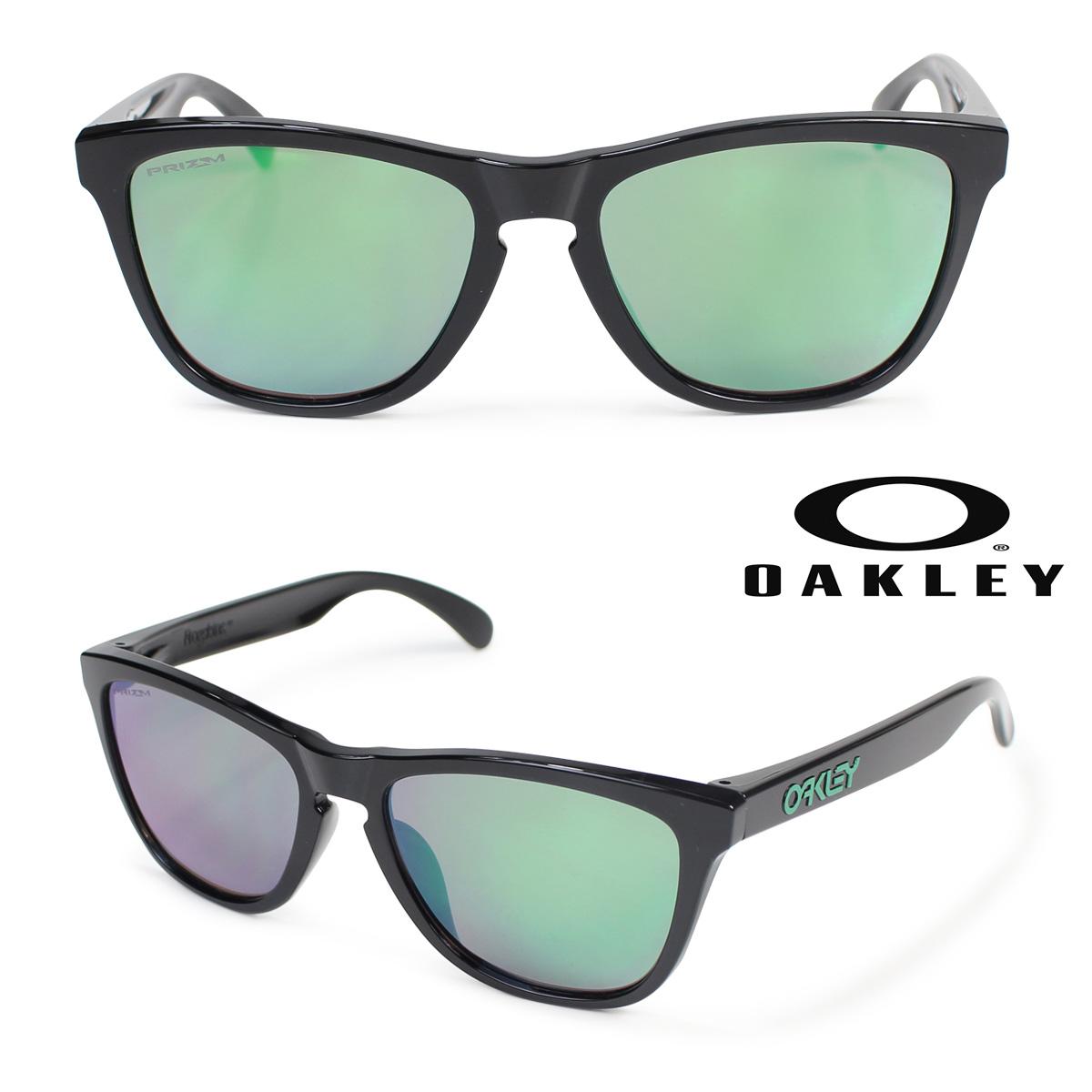 Oakley ASIA FIT サングラス アジアンフィット オークリー Frogskins フロッグスキン OO9245-6454 ブラック メンズ レディース [186]