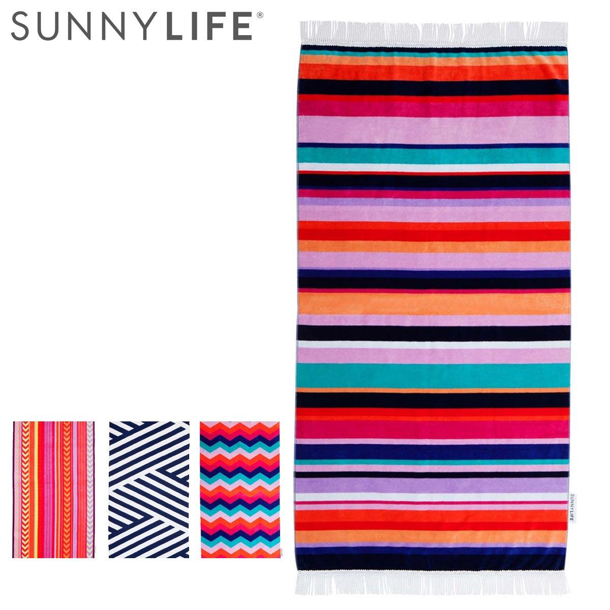 Allsports Sunny Life Sunnylife Beach Towel Bath Towel Towelling