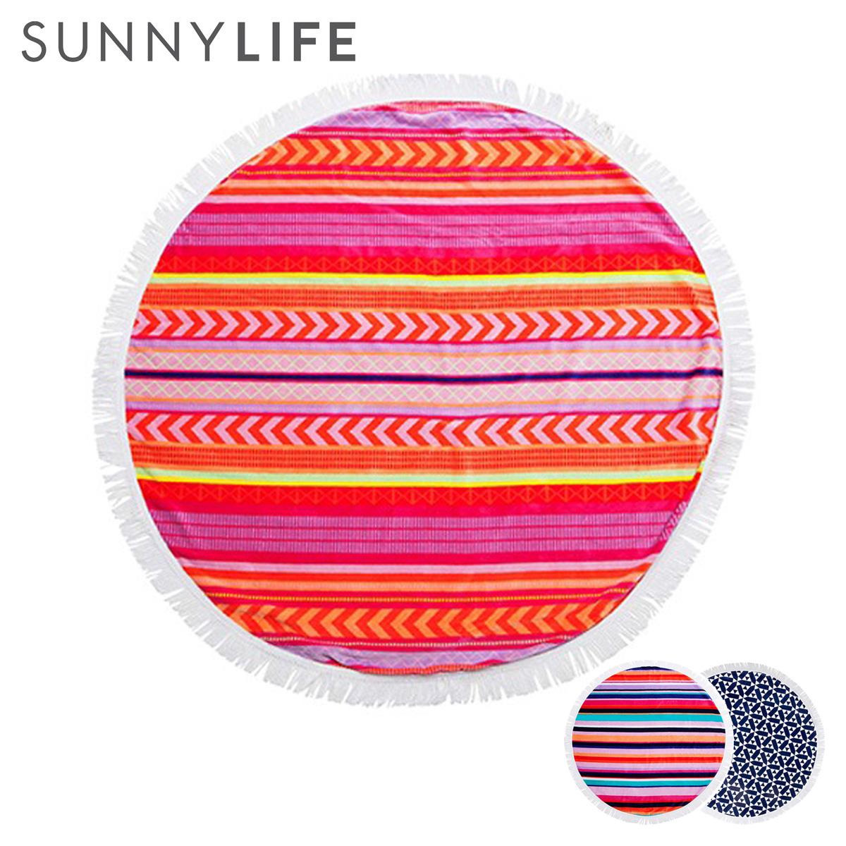 サニーライフ SUNNYLIFE ラウンドビーチタオル ビーチマット タオル ラウンド バスタオル タオルケット 大判 SUNNY LIFE Round Towel 3カラー [177]