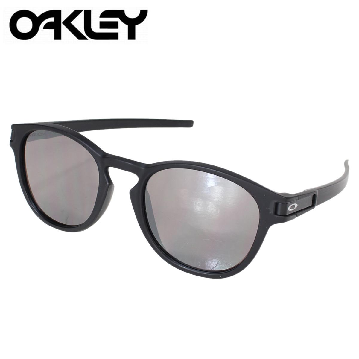 Oakley sunglasses latch horse mackerel Ann fitting Oakley LATCH ASIA FIT  OO9349-1153 black men gap Dis [9/7 Shinnyu load] [179]