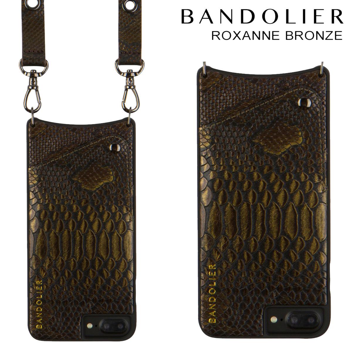 BANDOLIER ROXANNE バンドリヤー iPhone8 iPhone7 7Plus 6s ケース スマホ アイフォン プラス レザー メンズ レディース