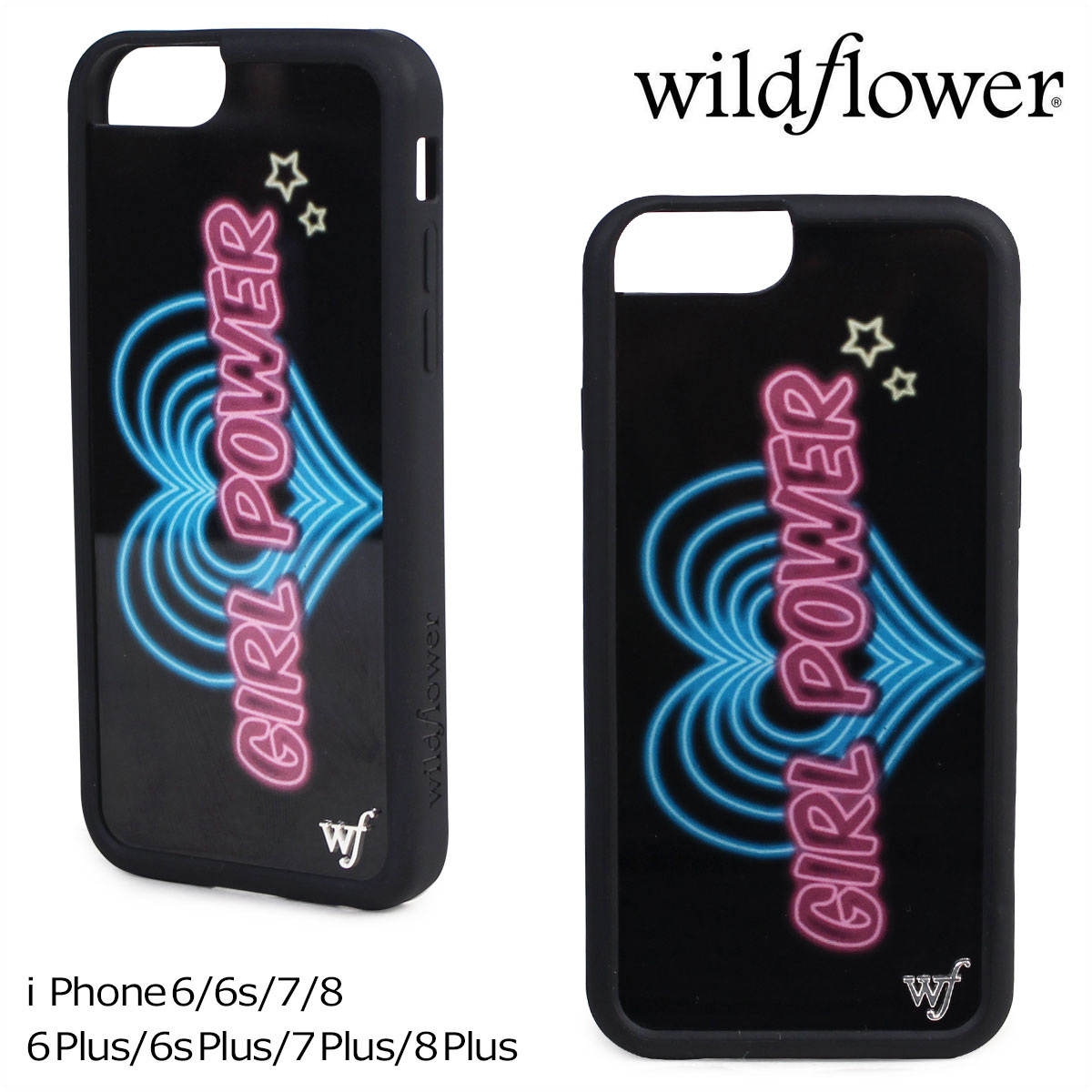 new style af790 c5776 wildflower iPhone8 7 iPhone 6 6s wild flower case smartphone eyephone  Lady's black GIRL