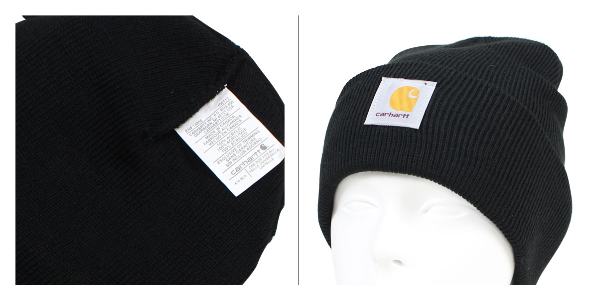 ALLSPORTS  carhartt ACRYLIC WATCH HAT car heart knit cap knit hat ... 905cdf40fa48
