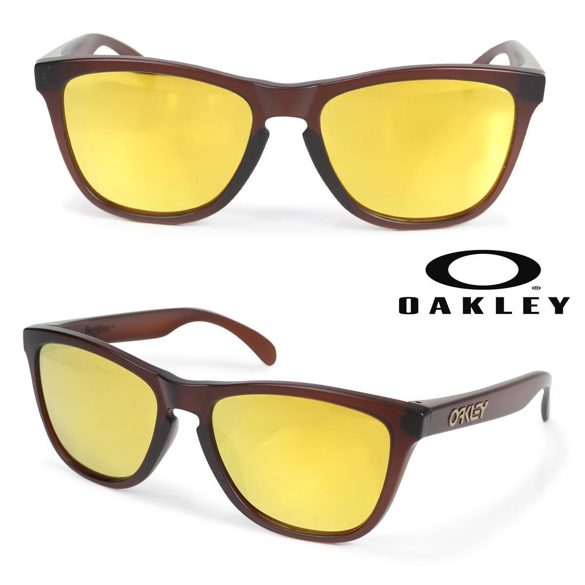 Oakley Frogskins オークリー サングラス アジアンフィット フロッグスキン ASIA FIT メンズ レディース ブラウン OO9245-04 92450454