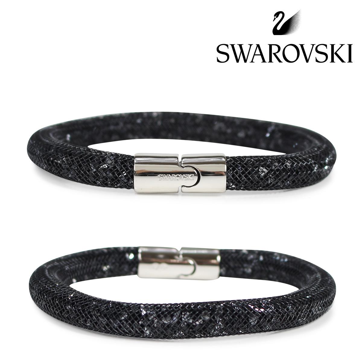 b938d91a422f0 SWAROVSKI STARDUST Swarovski bracelet Lady's black 5102552 S [3/19 Shinnyu  load] [183]