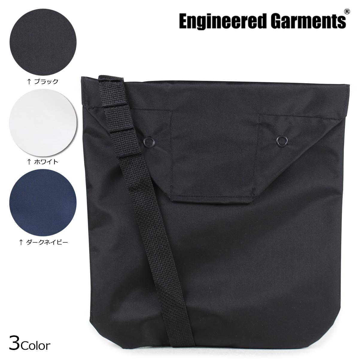 ENGINEERED GARMENTS SHOULDER POUCH エンジニアドガーメンツ バッグ メンズ レディース ショルダーバッグ ブラック ホワイト ネイビー [184]
