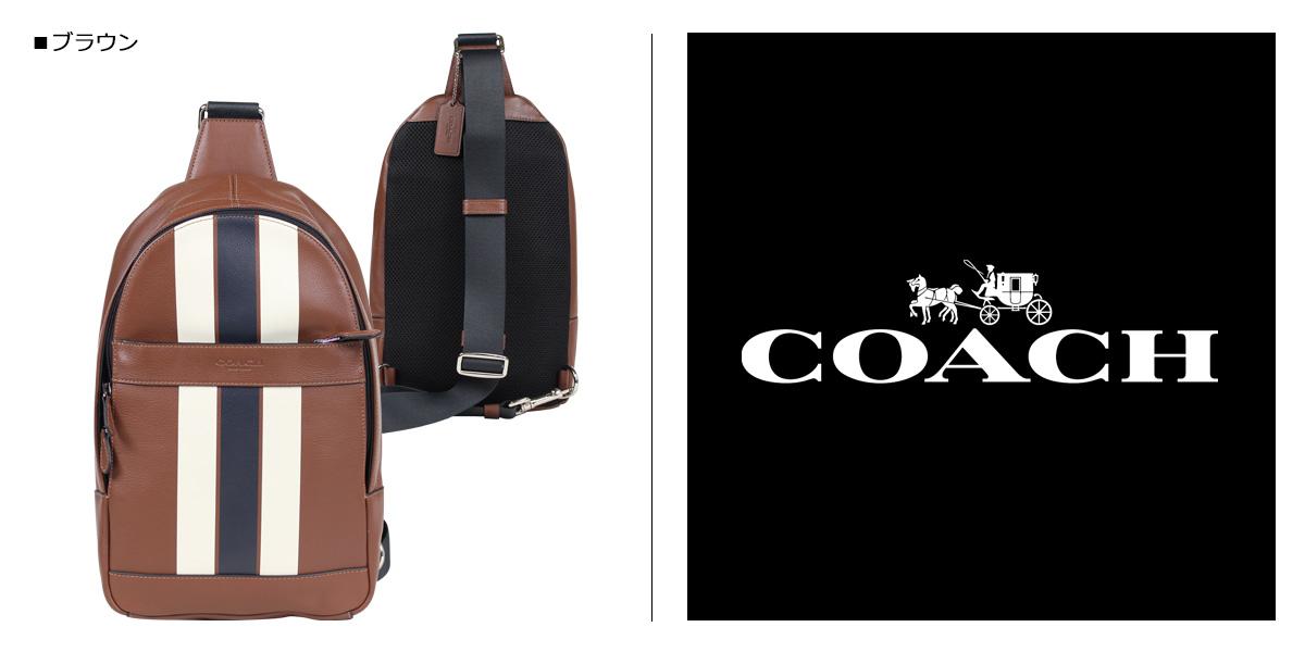 1ac36b23b5 COACH F72226 coach bag shoulder bag body bag men leather brown  5 11  Shinnyu load   185
