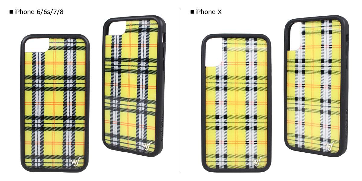 timeless design b2508 d8b61 wildflower iPhone8 X 7 iPhone case 6 6s wild flower smartphone eyephone  Lady's check yellow YPLA