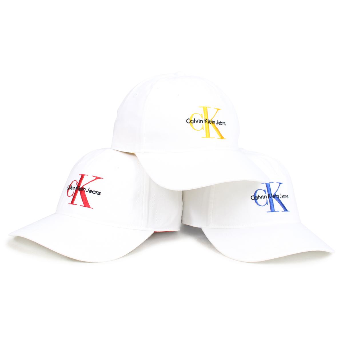 ALLSPORTS  Calvin Klein Jeans BASEBALL DAD CAP Calvin Klein jeans cap hat  men gap Dis white 41HH911  5 25 Shinnyu load   185   0e95f9844a5