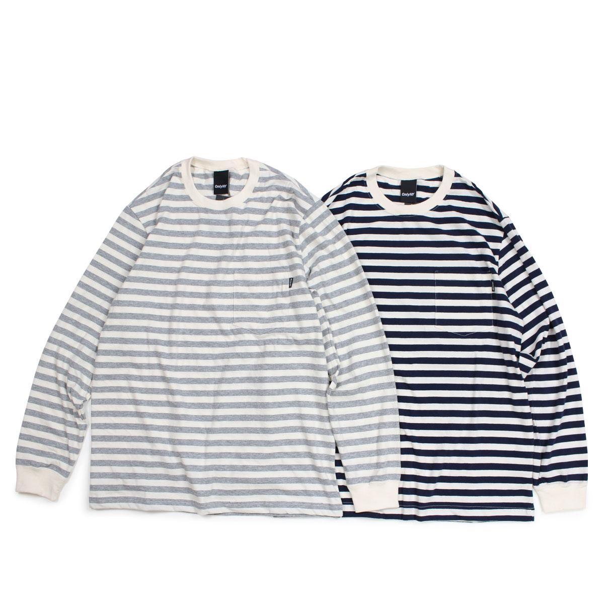 e72d5fe2cf ONLY NY NAUTICAL STRIPE LS POCKET T-SHIRTS only New York T-shirt men ...