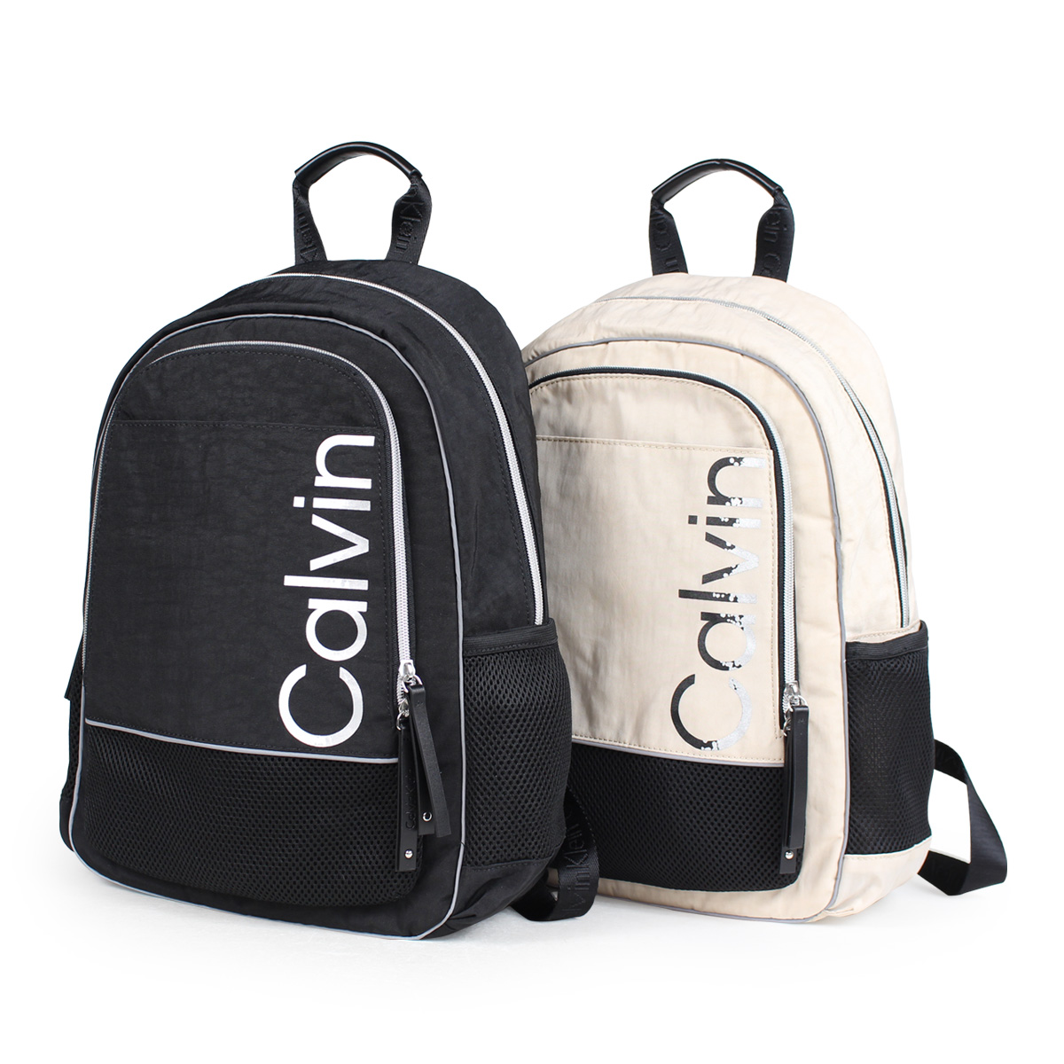689a87a50f6 Calvin Klein ATHLEISURE BACKPACK Calvin Klein bag men gap Dis rucksack bag  pack black beige H7DKE6ZM ...