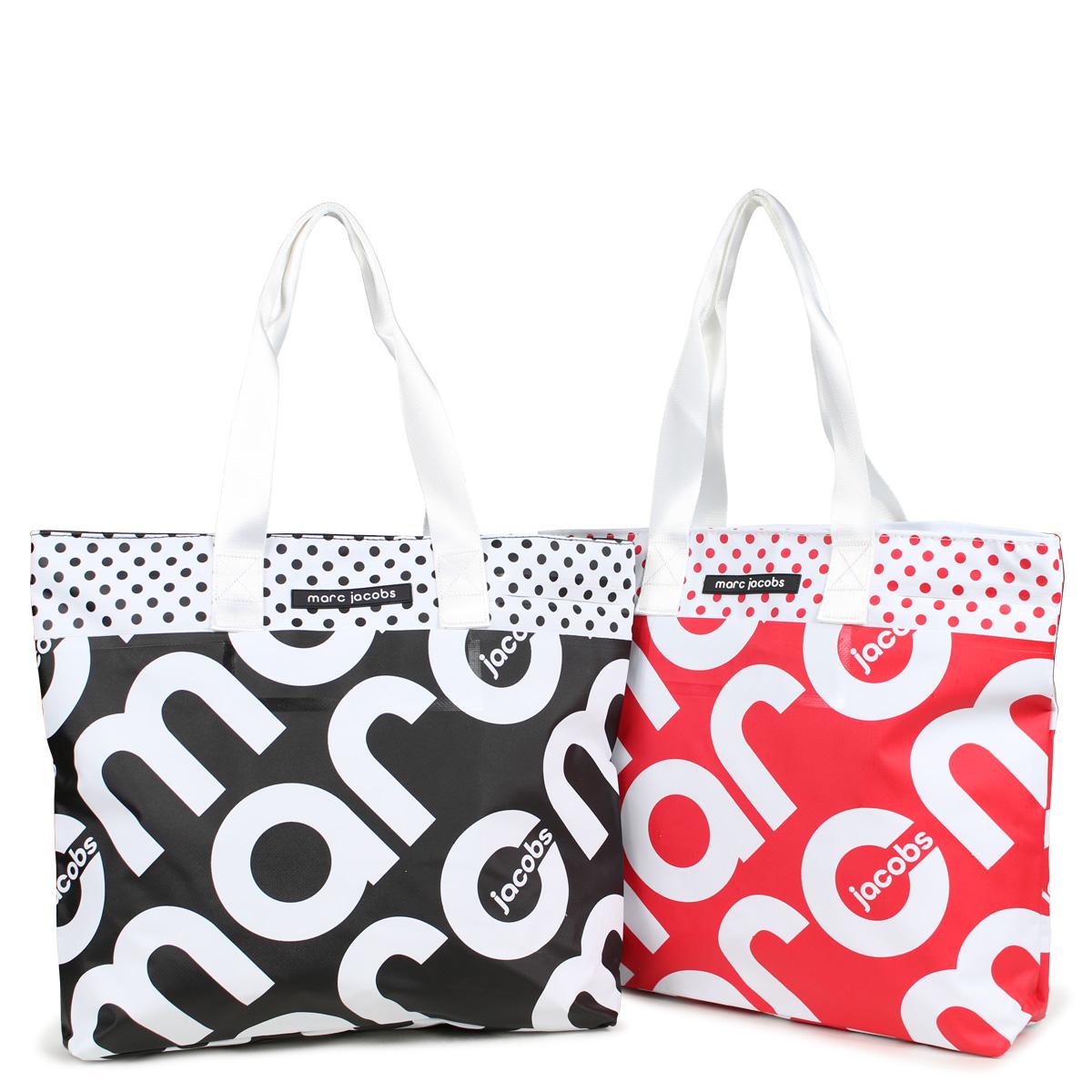 d4873714dee1 MARC JACOBS PRINTED TARPAULIN TOTE mark Jacobs tote bag bag lady men black  red M7000311  186