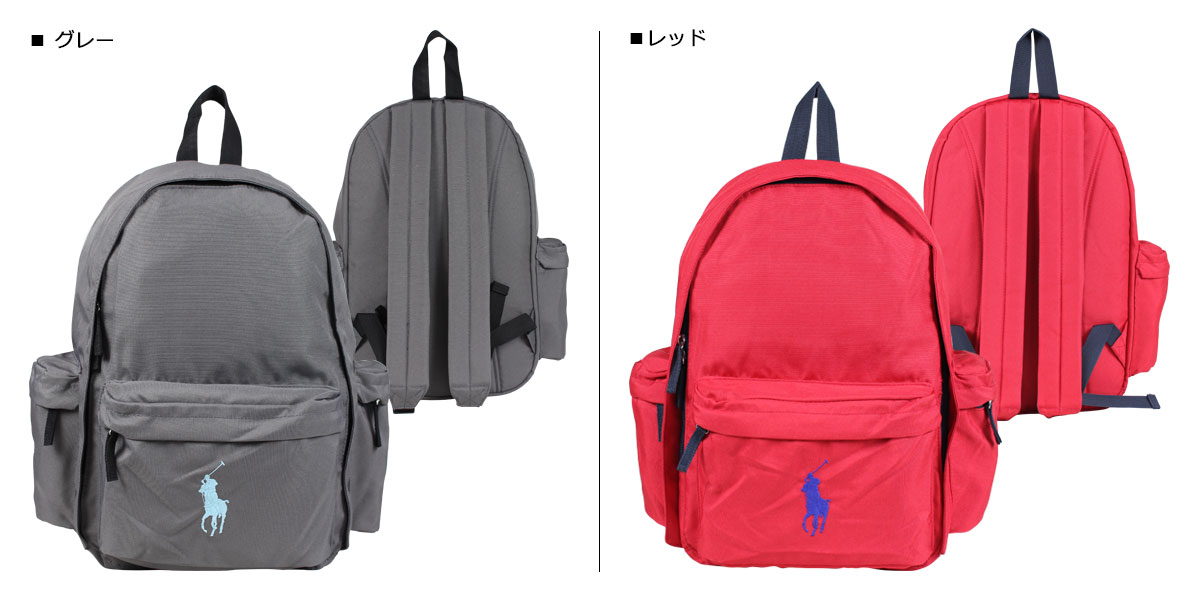 POLO RALPH LAUREN presenting an item of the American casual widely .  Backpacks ... cf8d2016fc274