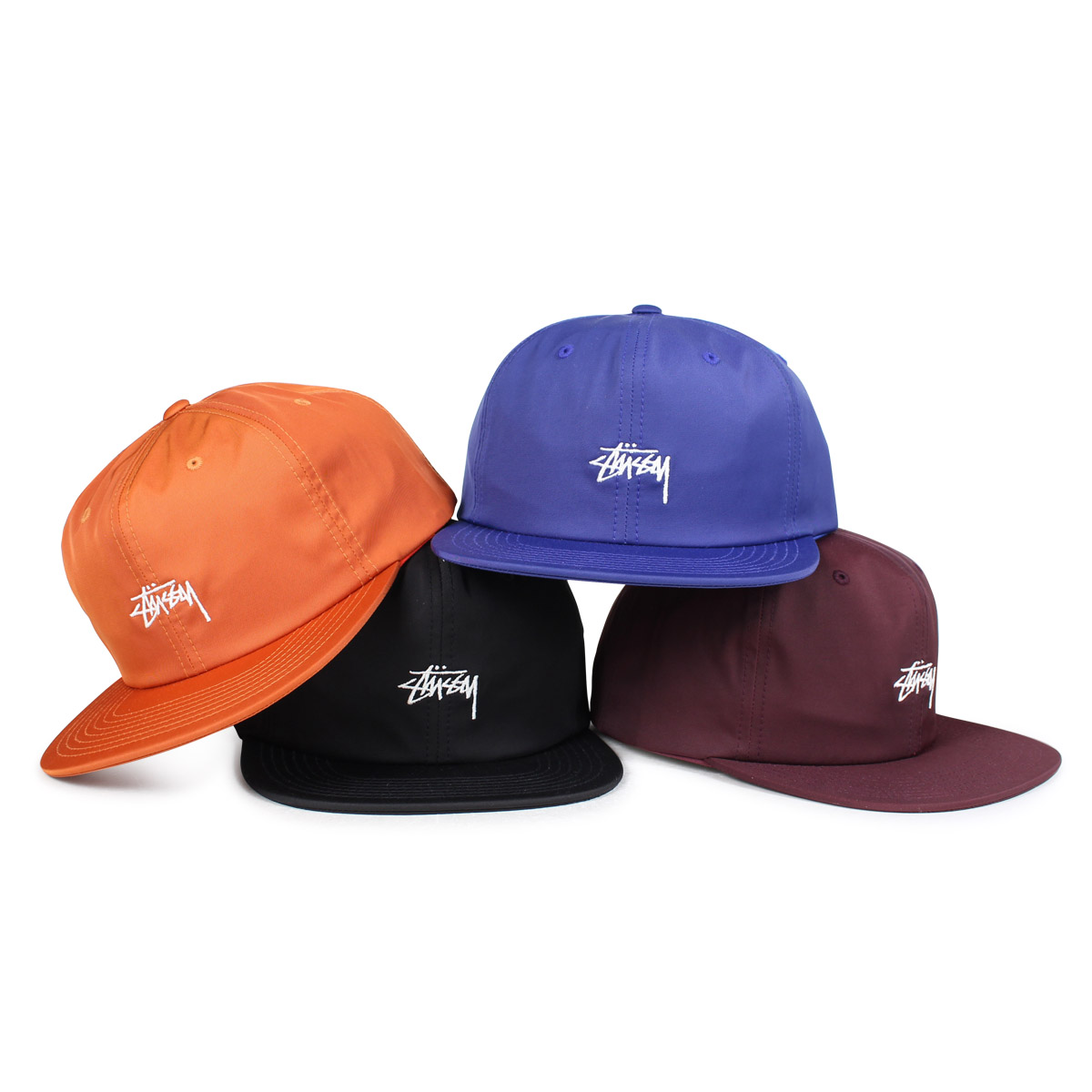 cd3d52321f9 STUSSY STOCK POLY COTTON SNAPBACK ステューシーキャップ hat men snapback 131806  load  planned Shinnyu load in reservation product 6 30 containing   186
