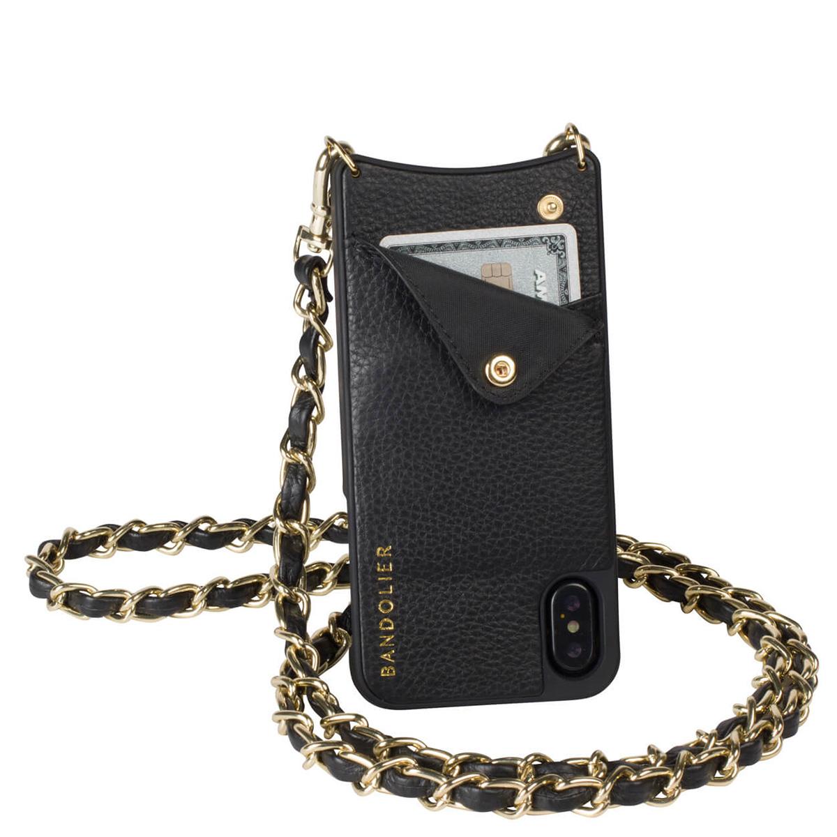 BANDOLIER iPhoneX LUCY GOLD バンドリヤー ケース スマホ アイフォン レザー メンズ レディース [191]
