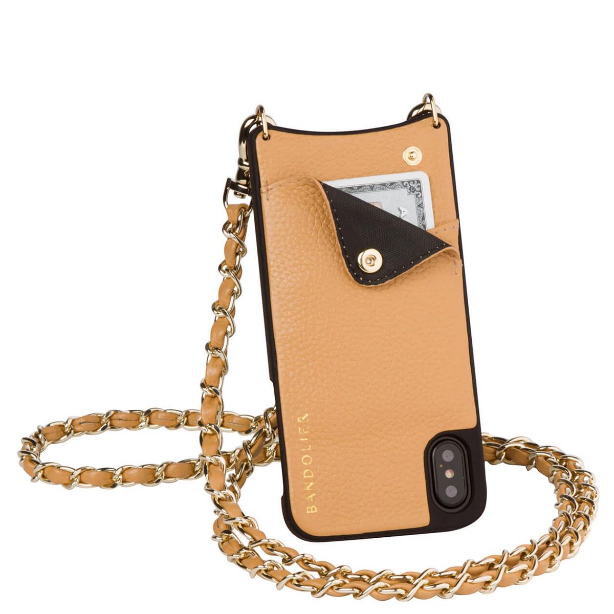 BANDOLIER iPhoneX LUCY GOLDENROD バンドリヤー ケース スマホ アイフォン レザー メンズ レディース [189]