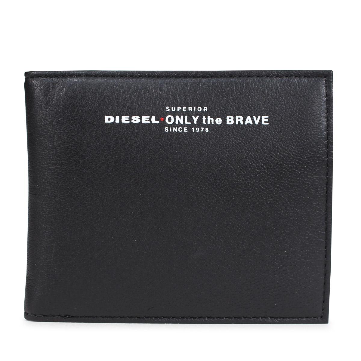 0282b5c41e42 DIESEL READY TO STAR HIRESH S diesel wallet men folio wallet X05590 PR400  H2691 black  10 12 Shinnyu load   1810