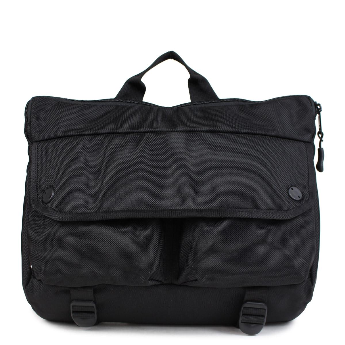 DSPTCH SHOULDER BAG ディスパッチ バッグ ショルダーバッグ 12L メンズ レディース ブラック PCK-SB [10/9 新入荷] [1810]