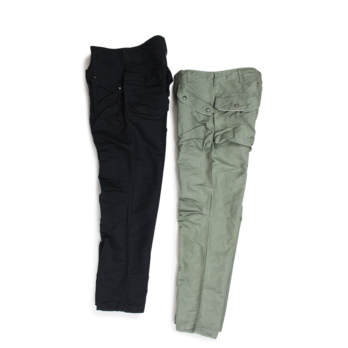 how to find newest style of cheap ENGINEERED GARMENTS NORWEGIAN PANT engineered garfish face underwear men  military black olive [10/4 Shinnyu load] [1810]
