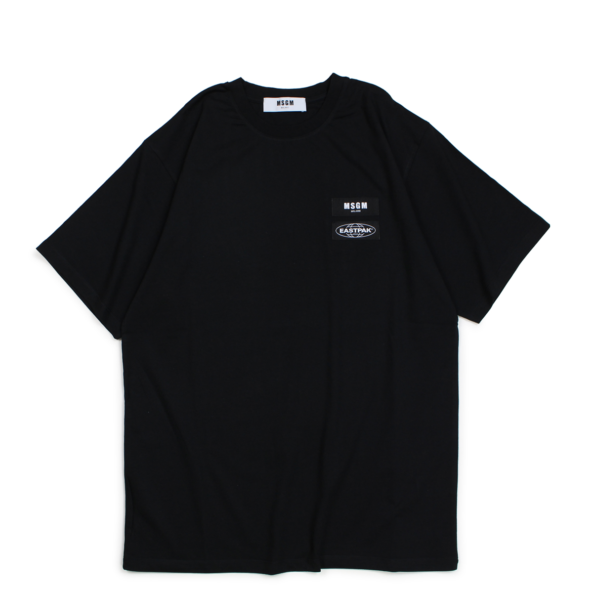 MSGM SHORT-SLEEVED T-SHIRT Tシャツ 半袖 メンズ エムエスジーエム ブラック 2540MM200 184798