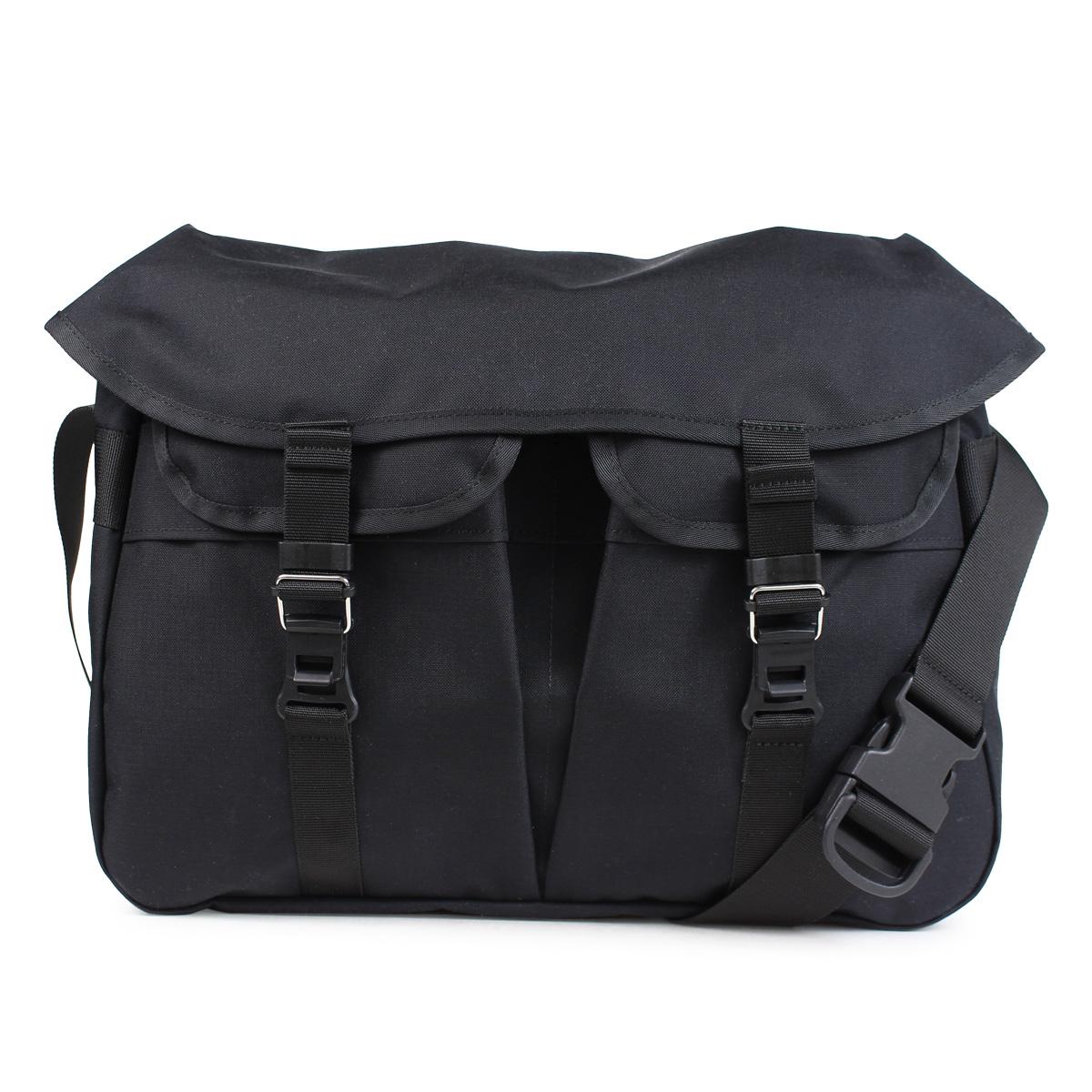 bagjack HNTR BAG バッグジャック メッセンジャーバッグ ショルダーバッグ メンズ レディース ブラック [191]