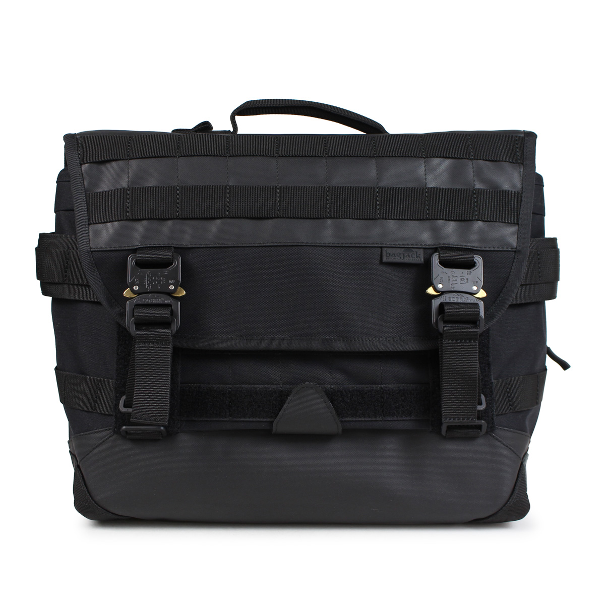 bagjack NEXT LEVEL MESSENGER S TECH LINE バッグジャック メッセンジャーバッグ ショルダーバッグ メンズ レディース ブラック [191]